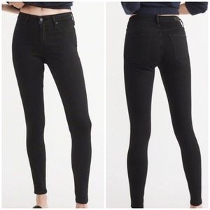 Abercrombie & Fitch Harper Low Rise Ankle Stretch Jeans